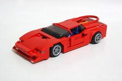 Colani Lotec Testa D'Oro (Angka Utama) Tags: lego racers