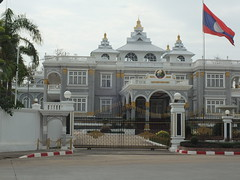 Presidential Palace, Vientiane (twiga_swala) Tags: architecture traditional style palace presidential architectural palais laos lao vientiane prsidentiel