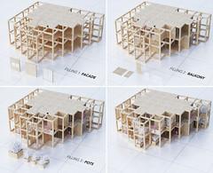 Проект модульного жилого небоскреба в Индии от Penda