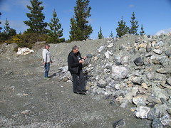 Mossburn Serpentine Quarry - Mick and Bev (Otago Rock and Mineral Club) Tags: dendrites serpentinemossburndentritessouthlandnewzealand