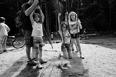 Ropes (James_2nd) Tags: family blackandwhite bw woods fuji 18mm xpro1