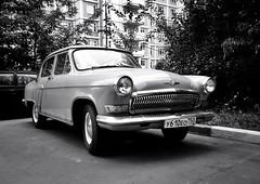 GAZ-21 named Volga (SerjDema) Tags: blackandwhite bw history car vintage streetphotography blacknwhite bnw volga ussr iphone gaz21