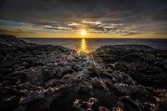 Sunset in Dwejra bay - Gozo, Malta - Seascape, travel photography
