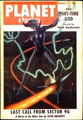 Planet Stories Vol. 6, No. 11 (Summer 1955). The Final Issue. Cover by Kelly Freas (lhboudreau) Tags: sf fiction art 1955 vintage magazine coverart anderson planet sciencefiction pulp magazines pulpmagazine freas magazineart magazinecover magazinecovers pulpmagazinecovers brackett pulps otherworlds poulanderson vintagemagazine strangeadventures planetstories pulpart leighbrackett pulpmagazines kellyfreas frankkellyfreas pulpmagazinecover fictionhouse finalissue vintagepulp summer1955 sciencefictionstory sciencefictionstories fictionstory fictionstories thefinalissue volume6number11 theparttimegod lastcallfromsector9g