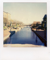River (m.ashe7) Tags: color analog polaroid md streetphotography retro instant impossible spirit600 impossibleproject