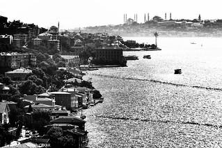 Monochrome Istanbul Bosphorus