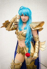 Lady Malice - Afrodita de Picis (Carlos Abdn) Tags: saint cosplay seiya saintseiya picis afrodita goldcloth
