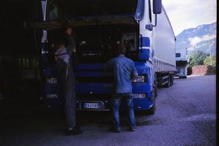 Meccanico Trentino (ovvero tedesco) che ci ripara la bestia