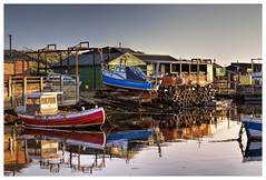 Late Afternoon Sun at Paddy's Hole (Digital Wanderings) Tags: boats harbour colourful vera redcar teeside southgare paddyshole