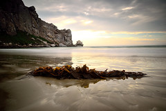 Californian sunset... (Fabio Tode ) Tags: ocean california longexposure sunset sea sky panorama usa cloud sun beach rock grey bay reflex screenshot nikon rocks long tramonto sweet sigma screen fabio filter lee nd 1020 morro haida tode gnd todeschini d3100 fabiotode