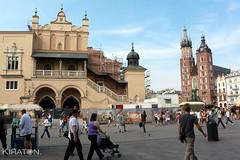Die Tuchhallen in Krakau. Polen (9)