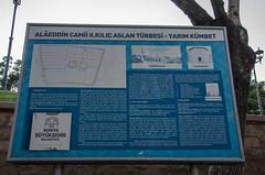 Konya - Alaaddin Tepesi Information Notice (Le Monde1) Tags: monument turkey nikon notice islam sultan information turkish dervish anatolia tepesi moslem whirlingdervishes alaaddin sinanpasha d7000 lemonde1 hasanpasha mevlnacaddesi fatmahtun