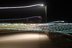 dock's ghost (lifeinapixel) Tags: abstract motion lamp night lights dock ghost illuminated