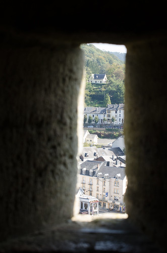 Murder Hole View from Château de Bouillon
