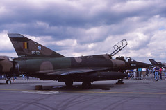 Mirage 5BD (Pentakrom) Tags: tattoo force air international mirage belgian 1991 fairford dassault breguet iat bd03