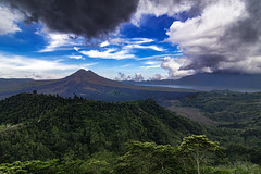 Impending storm (MorningRain15) Tags: travel bali mountain nature clouds canon indonesia landscape tokina highland batur kintamani impending 700d