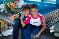 Tonle Sap, Siem Reap. (Yuzie Yusoff) Tags: life people kids portraits children cambodia photojournalism documentary siemreap angkor tonlesap humaninterest floatingvillage jpc floatingschool jebatphotographyclub