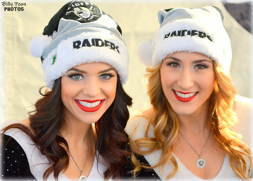 2015 Oakland Raiderettes Kelly & Tess