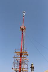 Tower at Lal Shahbaz Qaandar Mazar (Omair Anwer) Tags: lal shahbaz qalander mazar tomb sehwan sharif sufi sufism