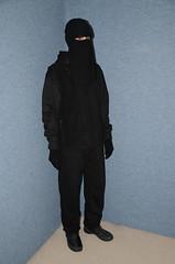 Slave Waitress (Buses,Trains and Fetish) Tags: slave niqab hijab burka chador girl sweat torture warm hot winter waitress maid anorak coat fleece