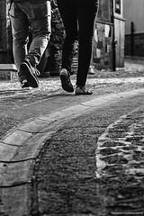 passo dopo passo (gianpiero.scalamandre) Tags: strada passi camminare percorso insieme biancoenero camminando