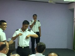Passing Out Ceremony - GME @ IMI (15-10-2016) (imigreaternoida) Tags: imi gme passing out 2016