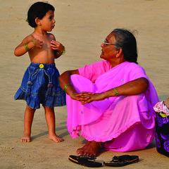 110302 Young and Old (BavarIndia) Tags: asia tika
