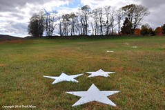 Seeing Stars (Trish Mayo) Tags: stars art artinstallation sculpture dennisoppenheim stormkingartcenter