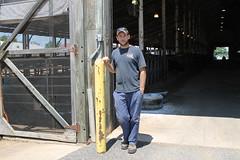 Emmett Brew at the USDA Dairy Cattle Research Center (iaaumd1965) Tags: usda dairycattle researchcenter beltsville maryland emmettbrew