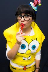 SpongeBobita (Max Valenzuela) Tags: halloween portrait costume retrato costumes cosplay funny nochedebrujas spongebob nickelodeon nick girl bubbles