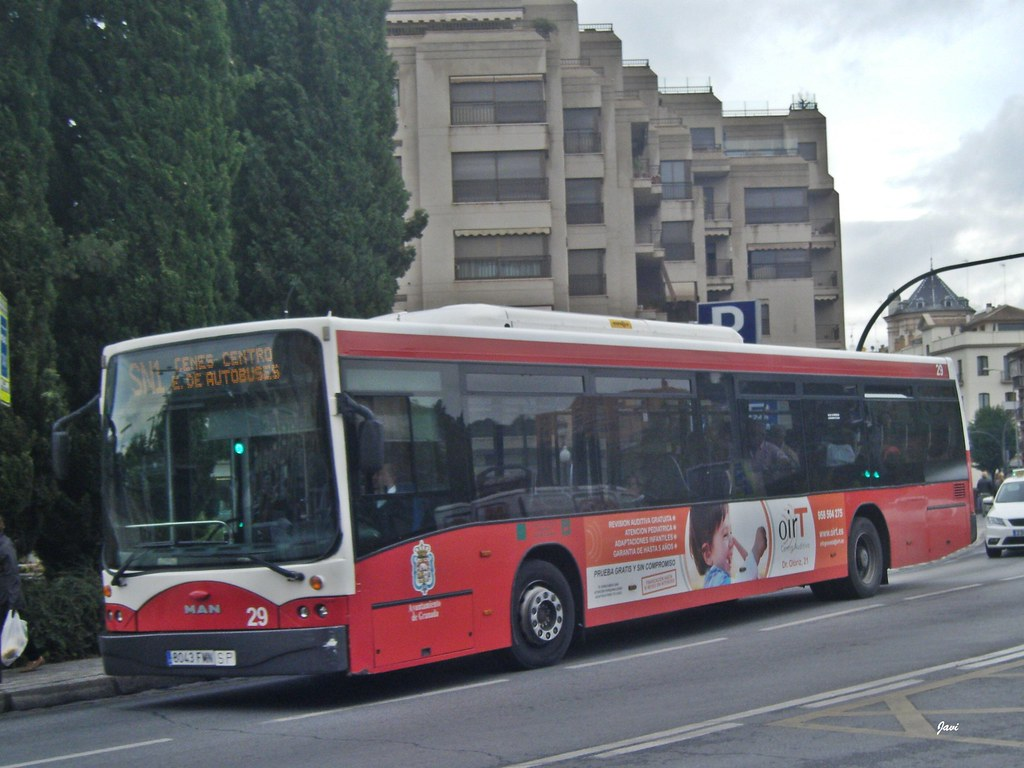 autobús Nubia