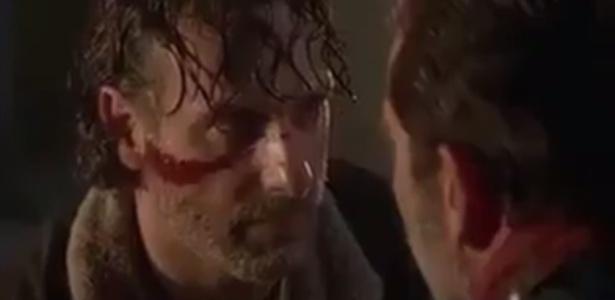 "Rick promete matar Negan em teaser da sétima temporada de ""Walking Dead"""