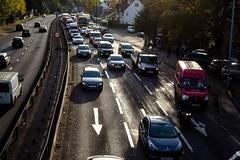 Traffic 1 (allybeag) Tags: traffic road goldersgreen intothesun
