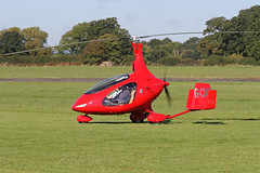 G-CIXX (QSY on-route) Tags: gcixx rotorsport uk gyro autogyro gyrocopter fly in 2016 wolverhampton halfpenny green egbo 02102016