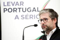 Marco António Costa na Tomada de Posse do NESD-UC
