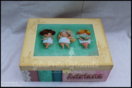 "Caixa de maquilhagem ""Sweetie Little Fairies"""