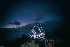 Lightpainting (derriesen) Tags: lightpainting night longexposure scilly stmartins uk vacation faraway nikondf playful