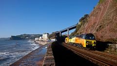 Vac Attack (Richie B.) Tags: 6x54 colas rail teignmouth devon general electric powerhaul class 70 70802