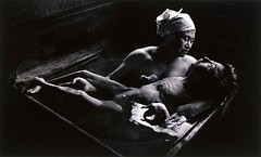 #Tomoko in Her Bath, Mother and daughter with Minamata Disease, Japan, 1971. Photographed by W. Eugene Smith. [1400x845] #history #retro #vintage #dh #HistoryPorn http://ift.tt/2gtIuAT (Histolines) Tags: histolines history timeline retro vinatage tomoko her bath mother daughter with minamata disease japan 1971 photographed by w eugene smith 1400x845 vintage dh historyporn httpifttt2gtiuat