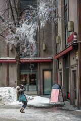 Beneath The Ice (pni) Tags: human being people person woman ice tree building snow street photography helsinki helsingfors finland suomi pekkanikrus skrubu pni