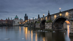 Charles bridge Prague (Robert Grim) Tags: prague czech bridge vltava ngc