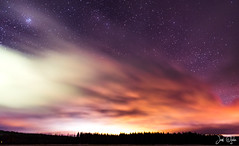 Light pollution (JaniOjalaFINLAND) Tags: jani ojala suomi finland lightpollution light pollution space stars forest landscape dark clouds