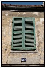 Les volets verts (DavidB1977) Tags: france iledefrance valdoise goussainville nikon d610 nikkor volet vert fentre 2885mm