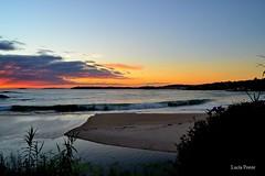 Areas (lpcobian) Tags: galicia areas pontevedra spain espaa sky sunset skyline nature evening puestasol sol sun beach playa ocean atlantic oceano atlantico tourism travel places turismo daytrip