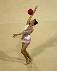 GIMNASIA RTMICA PELOTA (skyrosredes) Tags: sport sportsevent panamericangames deporte eventosdeportivos juegospanamericanos toronto ontario canad