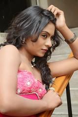 South Actress Deepika Das Hot in Pink Dress- Photos Set-6 (26)