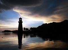 190459oa (www.linvoyage.com) Tags: yachting sunset sky    lighthouse     langkawi   cloud sail trip  travel  summer outdoor mountain landscape sea