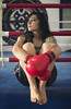 Illy Vita (elparison) Tags: boxeur boxe sportswoman woman girl donna sexy skin nonude life power eyes face angel