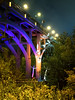Boo at the Zoo Lighting (HJharland5) Tags: bridge architecture halloween zoo night lighting trees sky ghosts