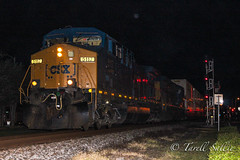 CSX Q177 Bushnell, FL 10-27-16 (tarellsallie) Tags: csx ns cn cp kcs up bnsf norfolksouthern canadiannational canadianpacific unionpacific kansascitysouthern bushnell florida sumter sumtercounty railroad railfanning railfan october 2016 usa unitedstates america unitedstatesofamerica ac4400 cw44ac ac44cw generalelectric electromotive ge emd locomotive canon canont3i lightroom macbook